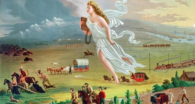 Figura 1. Gast, J. (1871). American Progress.