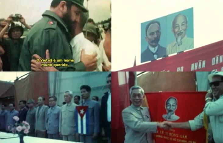 Figura 2 – La cooperación entre Cuba y Vietnam. Fuente: Fotogramas de la película