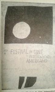 Imagen 1 Afiche del 1er Festival de Cine Independiente Americano