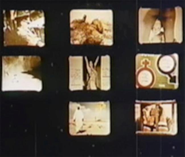 Figura 12. La imagen-mosaico en Ici et ailleurs (Jean-Luc Godard, 1974)