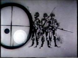 RllorensFotograma de placa de apertura de Sucesos Argentinos de principios de la década del 70, evidencia el esfuerzo por modernizarse estéticamente